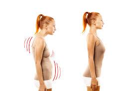 Posture corrigée grâce au pilates