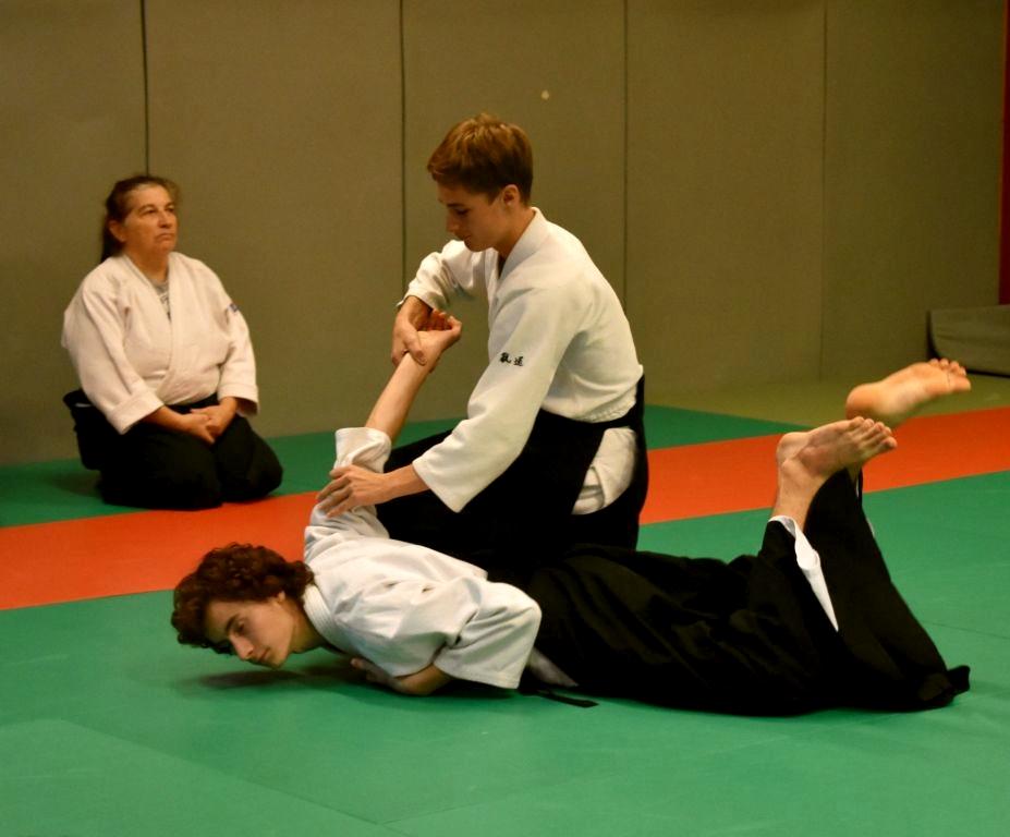 Aïkido tecnique Ikkyo