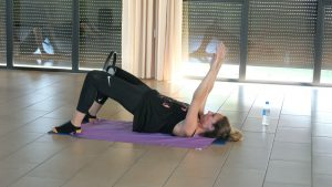 Pilates Shoulder bridge