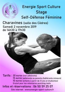 Stage sel-défense féminine