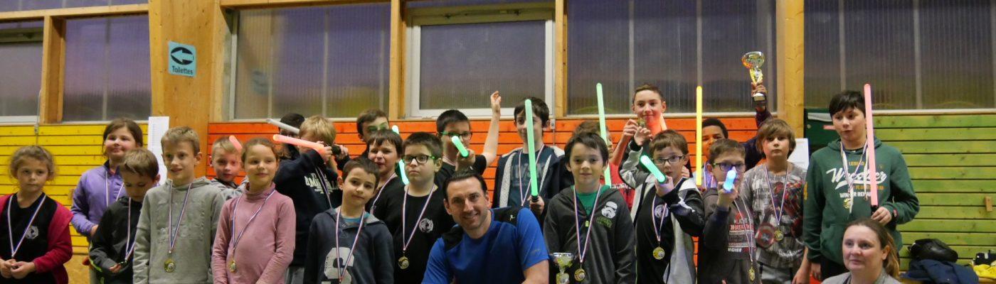 Participants tournois sabre laser 23 février 2020 Val de Virieu